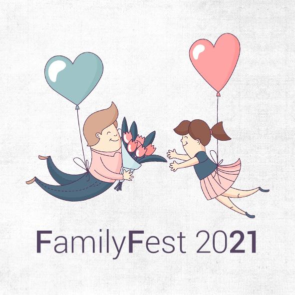 Podcast banner: FamilyFest 2021